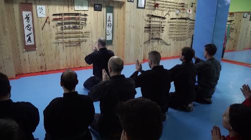 Clase de artes marciales en segovia